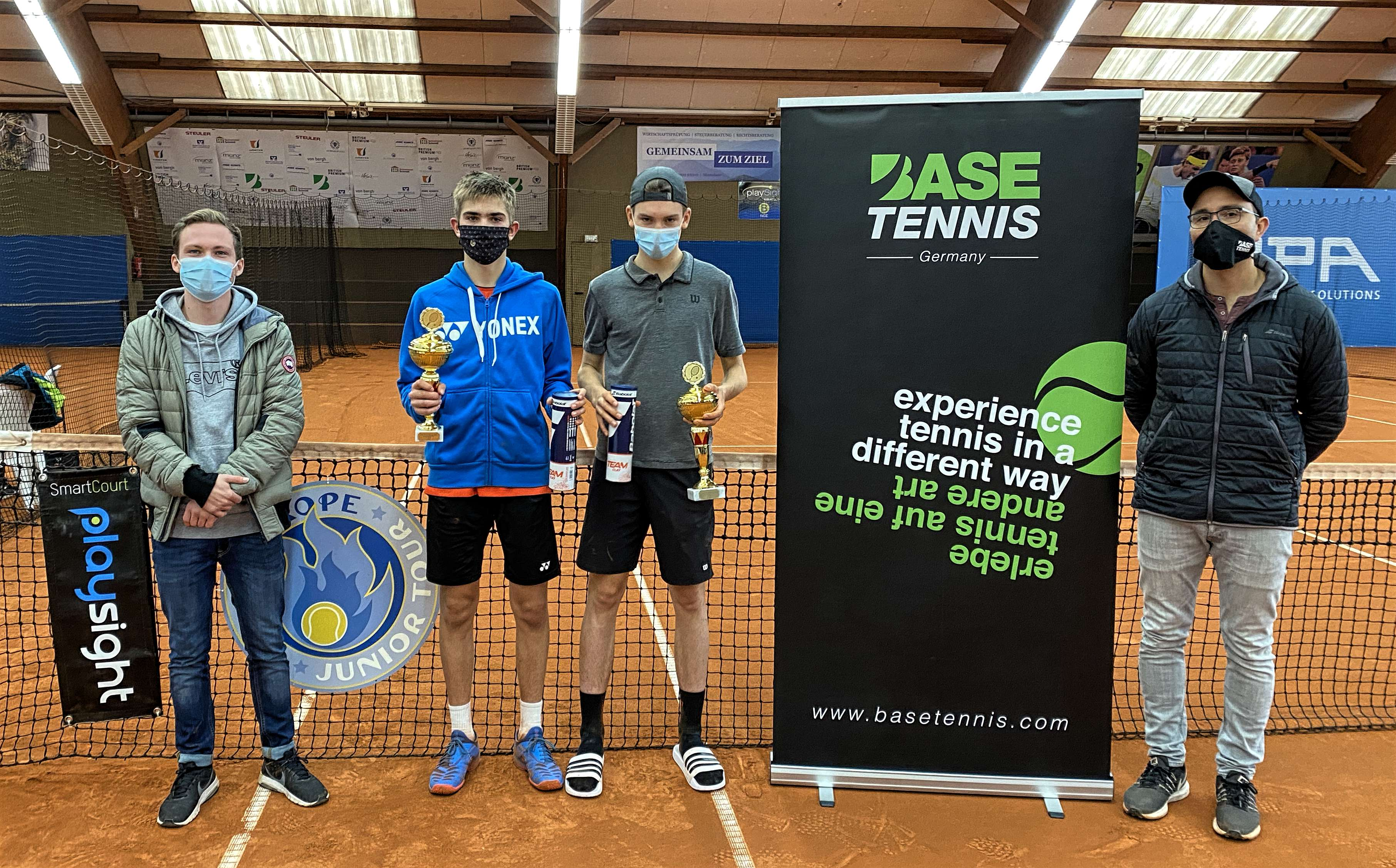 Max Stentzer (GER) and Mathilde Ngijol Carre (FRA) crowned champions of 2. Edition of the International Playsight Cup!